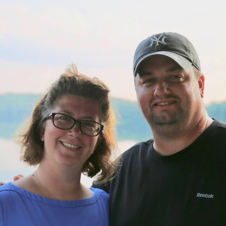 Captains Jason and Leslie Knaggs